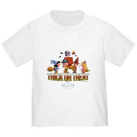 CafePress The Peanuts Movie - Trick or Treat Toddler T-Shirt, White