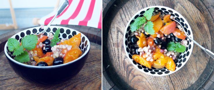 sweet buckwheat risotto! welcome fallmornings!