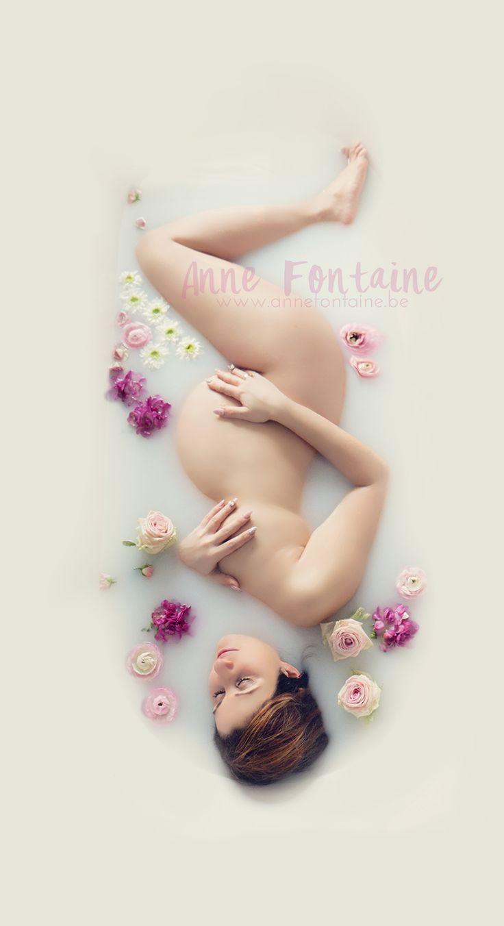 maternity milk bath bain de lait grossesse pregnancy
