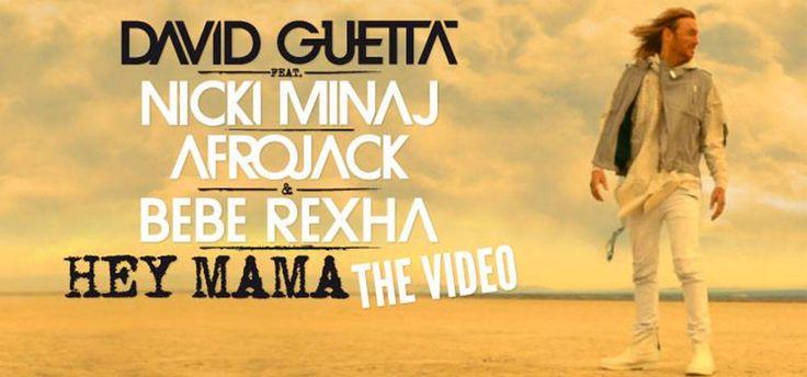"David Guetta estrena video de ""Hey Mama"" con Nicki Minaj"