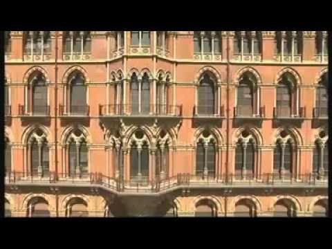 Etűdök építészetre - A londoni St. Pancras pályaudva