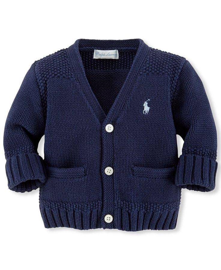 Ralph Lauren Baby Boys' Cardigan Sweater