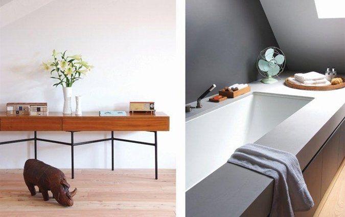 Badkamer verven in donkere verfkleuren