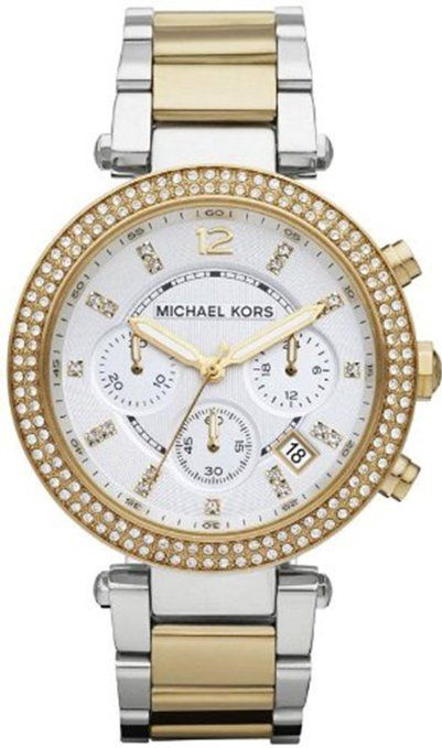 Este reloj es de mis favoritos. I love Michael Kors.  MK5626 Parker Gold:Silver Watch
