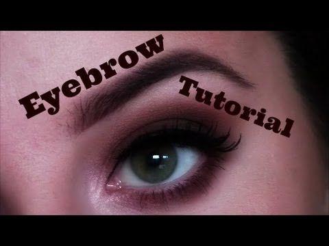 My video on how I achieve my eyebrow look