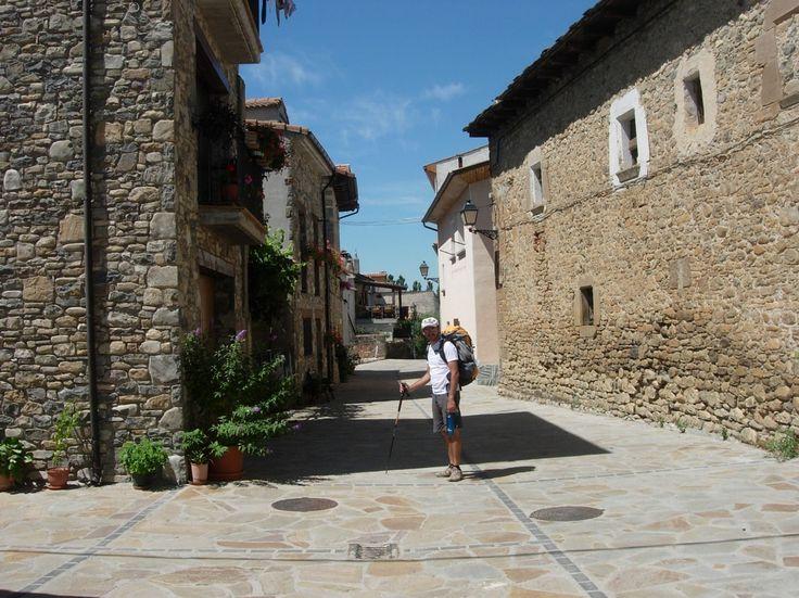 Santa Cilia de Jaca, Huesca, Camino Aragonés