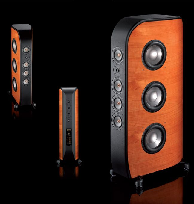 Malibran - loudspeaker, design by Riccardo Nasta for Unison Research (2009)