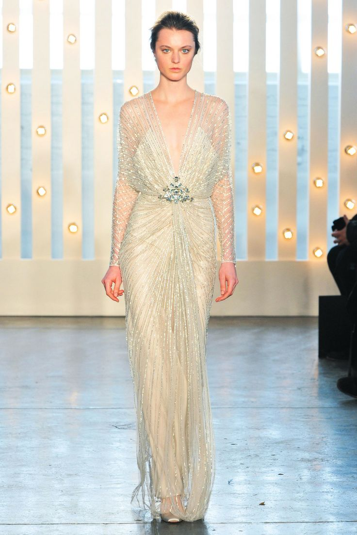 Jenny Packham, Fall 2014, New York