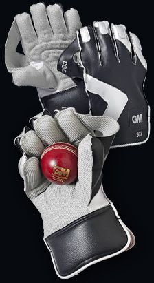 Making WK Gloves is tough.  Another lousy looking pair...this time from the latest range of GM      Gunn & Moore Cricket - 303 WK Glove