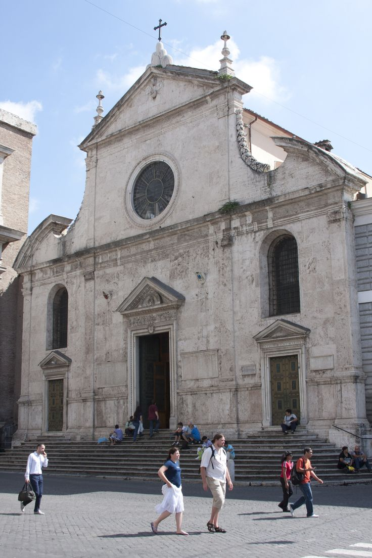 Santa Maria del Popolo - Rome, Italy - The Augustinians built magnificant churches. And they knew about location.