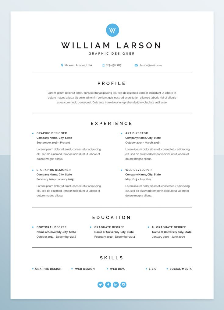 Minimal, clean, creative and simple curriculum vitae plus a beautiful cover letter for people who seeking for a job as a Graphic Designer, Real Estate Consultant, Engineer and ... .