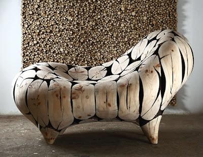 Beautyfull wooden chair