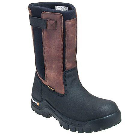 Carhartt Boots Men's Composite Toe CMF1391 EH Waterproof 10 Inch Welli