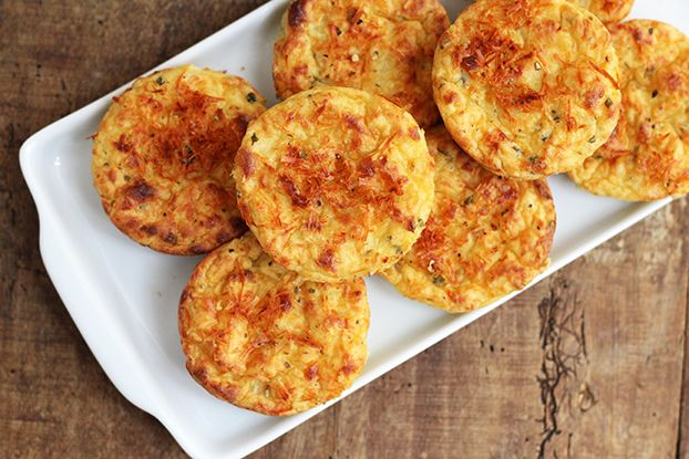 Mel e Pimenta: Puffs de batata-doce | Saudáveis e deliciosos