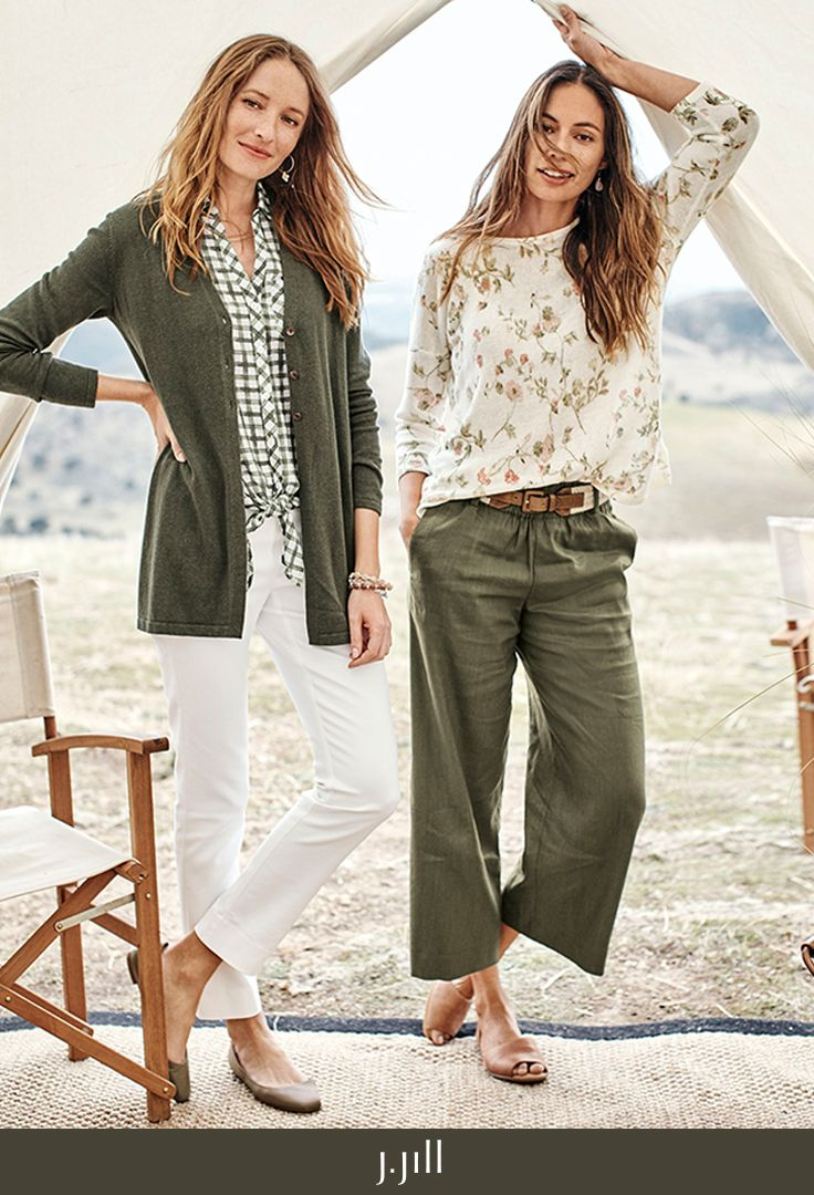 J.Jill new spring arrivals. What to wear this spring: cardis with