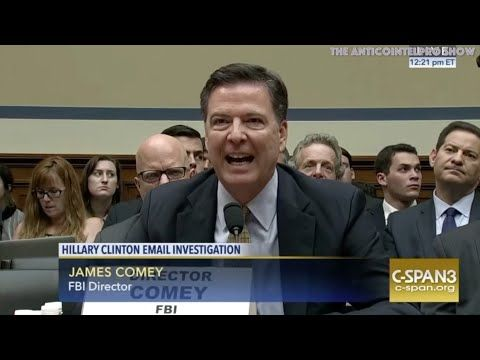 Rep John Mica Does A Surgical Interrogation On James Comey.... Whom Then Proceeds To Melt Down - YouTube