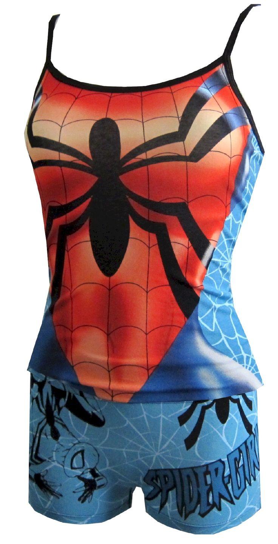 Marvel Comics Spider-Girl Cami & Panty Set
