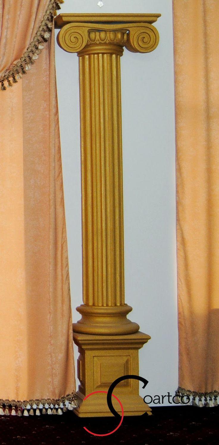 Coloane decorative stil ionic