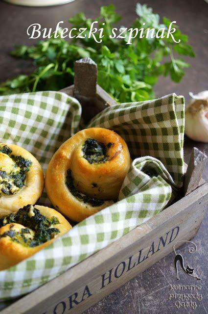 Kulinarne przygody Gatity: Zakręcone bułeczki ze szpinakiem