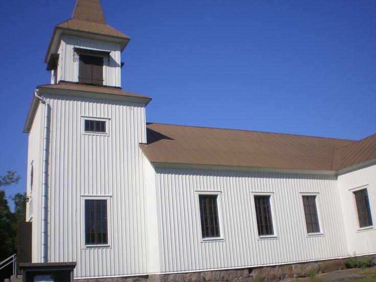 Brändön kirkko (Puutarhamatka Ahvenanmaalle 2011)