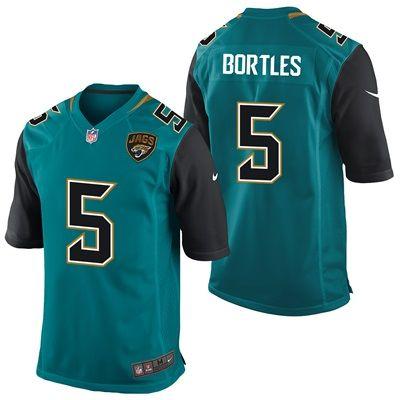 Jacksonville Jaguars Alternate Game Jersey - Blake Bortles: Jacksonville Jaguars Alternate Game Jersey - Blake Bortles TEAM LOYALTY,…