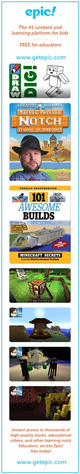 Minecraft - Titles in this collection: How to Draw a Minecraft-Type Person, Markus Notch Persson, Creator of Minecraft, 101 Awesome Builds: Minecraft Secrets from the Worlds Greatest Crafters, How to Make Your First Base, How to Enchant, How to Get Ender Pearls, Nether Fortresses, The Nether, How to Use Shie The Most Complete Drawing Course... http://the-secretstodrawing.blogspot.com?prod=Tf2UogCp