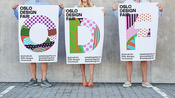 Bielke&Yang Created Bright, Playful Oslo Design Fair Identity   It's Nice That