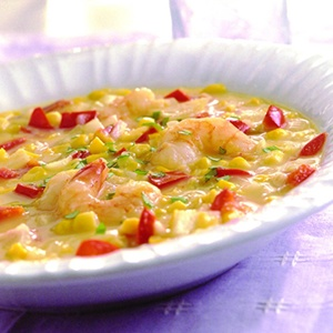More like this: corn chowder , chowders and shrimp .