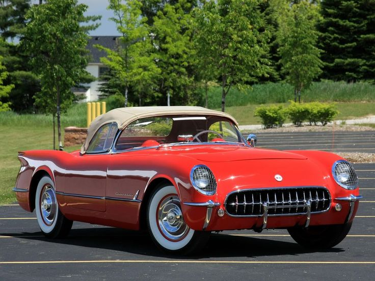 Chevrolet Corvette 1954* I wanted one of these when I was a kid and it first hit the streets. started me in the road to always owning sports cars.