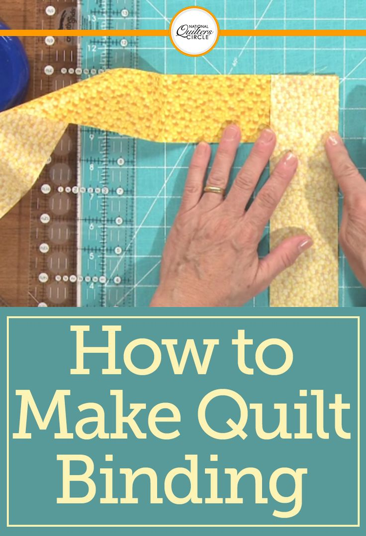 Dana Jones teaches you how to prepare a binding for attachment to a quilt. She demonstrates some of the essential quilting tips and techniques that you'll need to use in order to properly create decorative binding strips that you can use on any quilt.