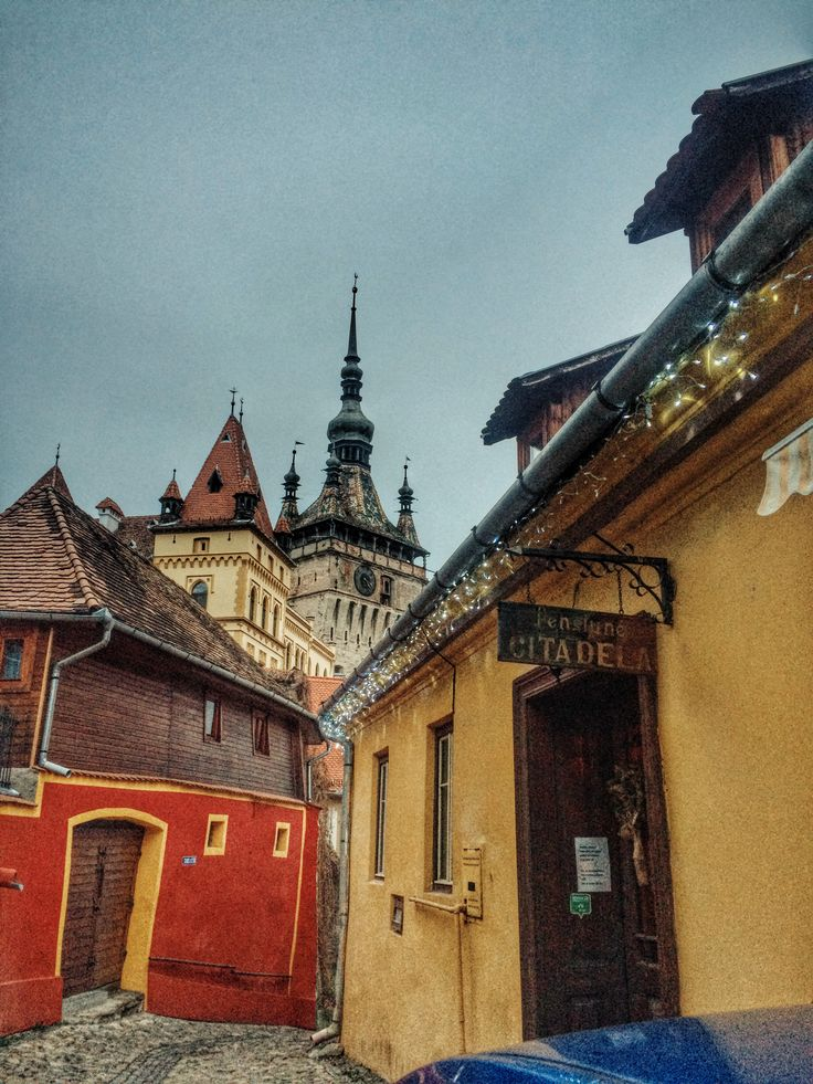 Amazing Sighisoara! ❤️ Sighisoara is a city on the Târnava Mare River in Mureș County, Romania. Located in the historic region of Transylvania! #visitsighisoara
