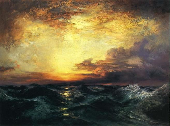 Famous Line Art Paintings : Famous watercolor artists sunset paintings by