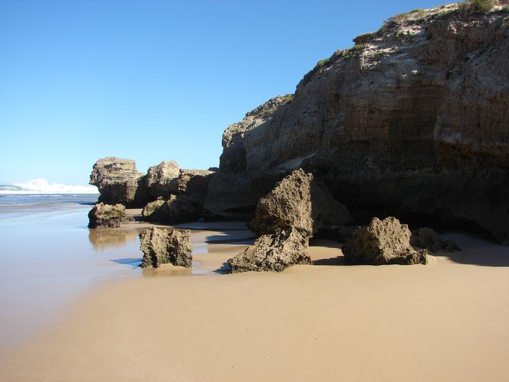 Spectacular rock formations in Kenton, Eastern Cape, South Africa