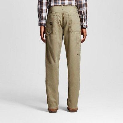 Wrangler Men's Relaxed Fit Carpenter Jeans - British Khaki 34x34