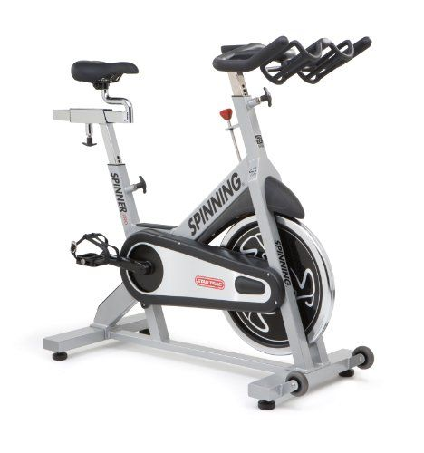 Spinner Pro Manufactured by Star Trac - Commercial Spin Bike with Four Spinning DVDs