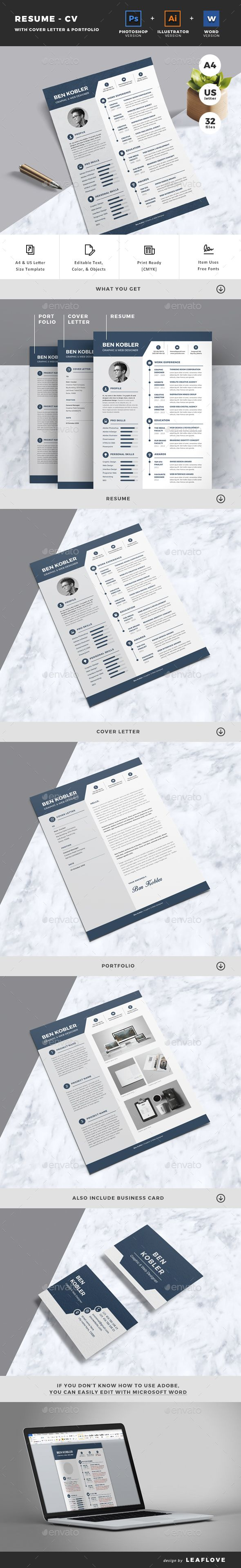 #Resume - Resumes Stationery Download here: https://graphicriver.net/item/resume/18126594?ref=alena994