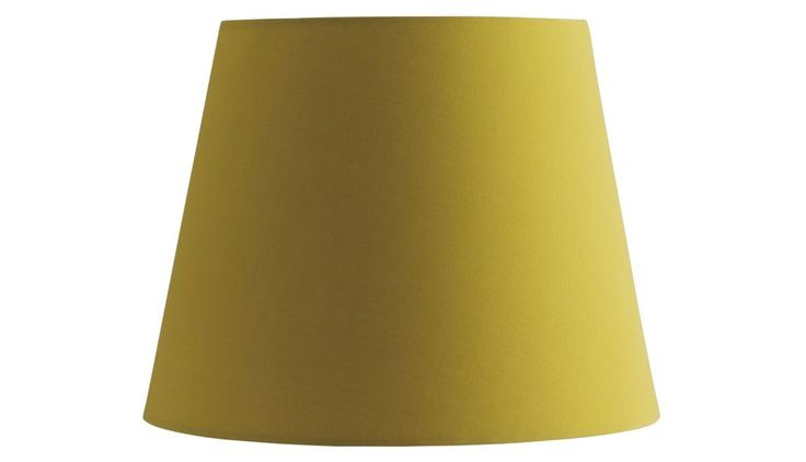 Buy Habitat Tipp Small Taper Shade - Saffron at Argos.co.uk - Your Online Shop for Lamp shades, Lighting, Home and garden.