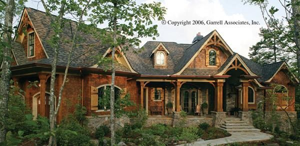 Rustic House Plans With Wrap Around Porches One Story