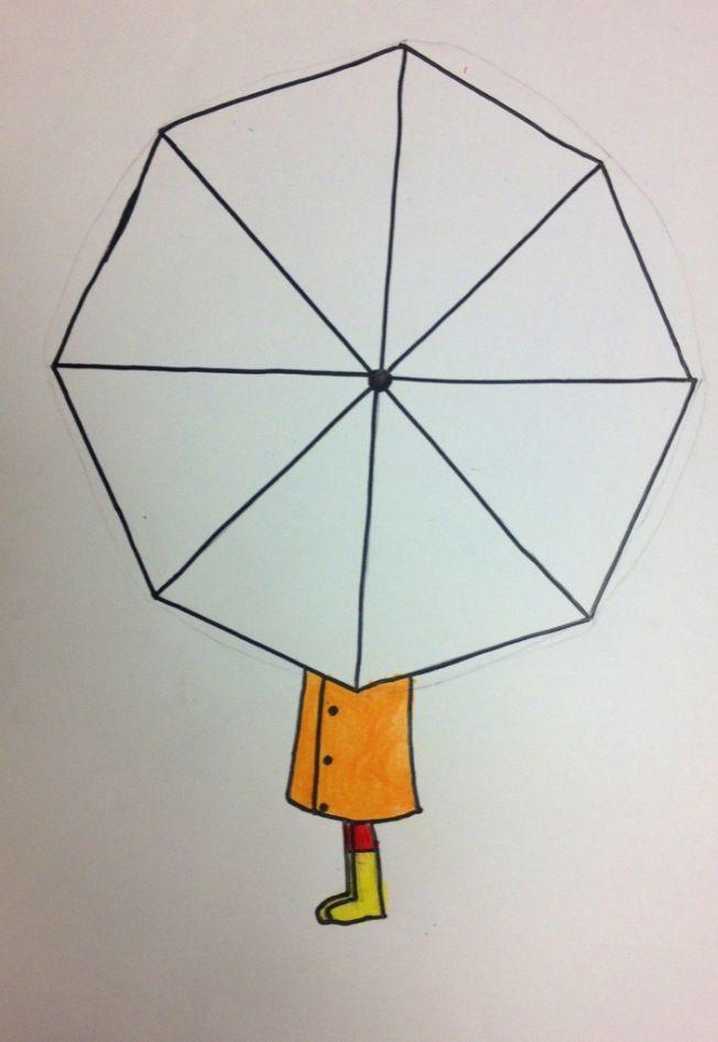 Rainbow Umbrellas | tinyartroom