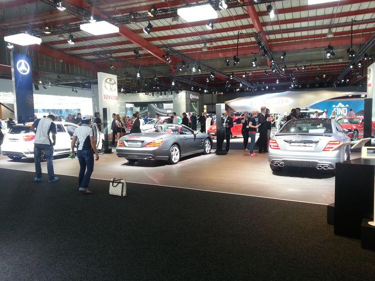 Mercedes-Benz at JIMS 2013