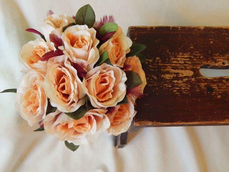 Romantic Handmade Wedding/Bridesmade bouquet US$51.29