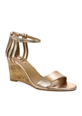 Tahari Women's Farce Wedge Dress Heel - Rosegold - 6.5M