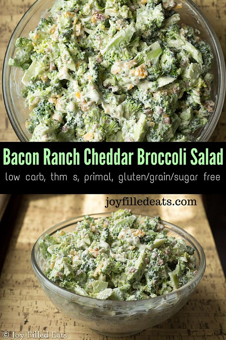Bacon Ranch Cheddar Broccoli Salad is a summer favorite in my house. It is cool…