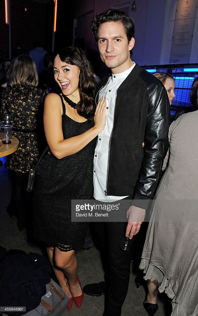 Susannah Fielding (L) and Ben Aldridge attend an after party celebrating the press night performance of 'American Psycho' at The Almeida Theatre on December 12, 2013 in London, England.