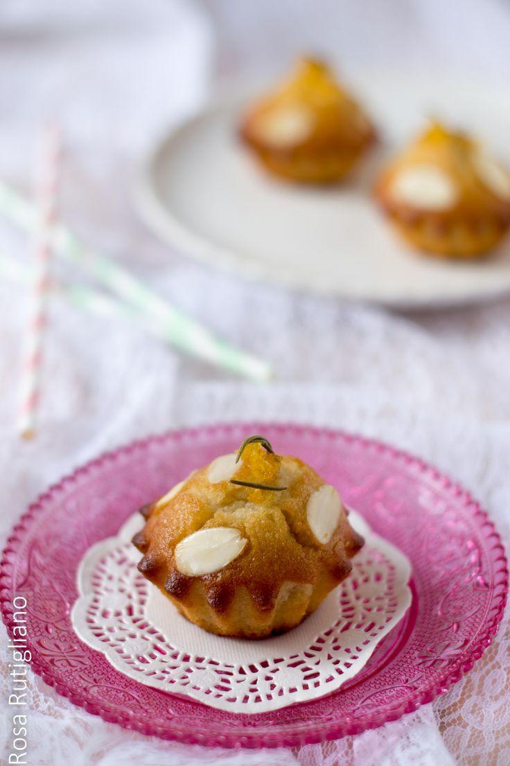 Tortine al limone e mandorle - Rosa Rutigliano