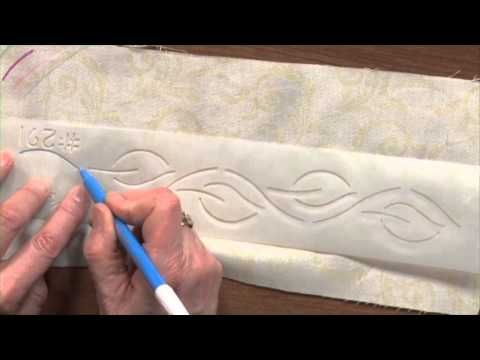 Como marcar um Quilt e Quilt Marcação Ferramentas | Círculo Nacional Quilter