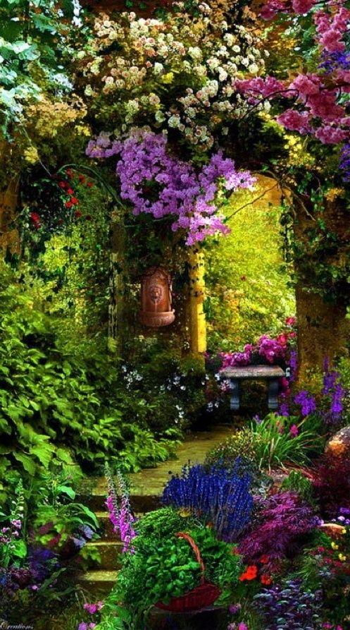 Garden Entry, Provence, France  photo via Tumblr
