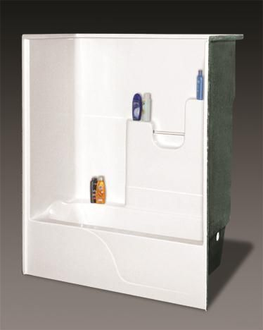 1 Piece Tub Shower 1 piece Direct to Stud Tub Shower Wall in