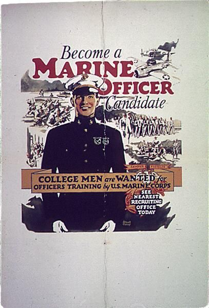 192 best images about marine corps recruiting posters on - How to become an army officer after college ...