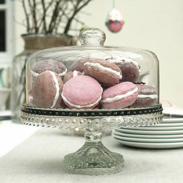Glass Dome Cake Stand